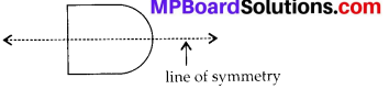 MP Board Class 6th Maths Solutions Chapter 13 Symmetry Ex 13.1 6