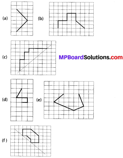 MP Board Class 6th Maths Solutions Chapter 13 Symmetry Ex 13.1 8