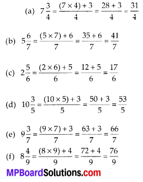 MP Board Class 6th Maths Solutions Chapter 7 Fractions Ex 7.2 7