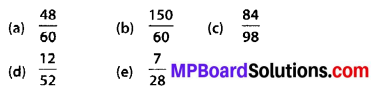 MP Board Class 6th Maths Solutions Chapter 7 Fractions Ex 7.3 10
