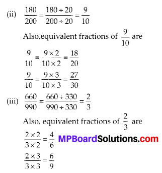 MP Board Class 6th Maths Solutions Chapter 7 Fractions Ex 7.3 14