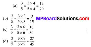 MP Board Class 6th Maths Solutions Chapter 7 Fractions Ex 7.3 6
