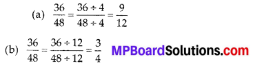 MP Board Class 6th Maths Solutions Chapter 7 Fractions Ex 7.3 7