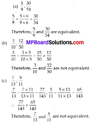 MP Board Class 6th Maths Solutions Chapter 7 Fractions Ex 7.3 9