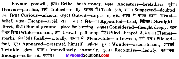 MP Board Class 6th Special English Solutions Chapter 10 Birbal Visits Heaven img-4