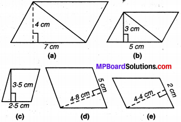 MP Board Class 7th Maths Solutions Chapter 11 परिमाप और क्षेत्रफल Ex 11.2 image 1