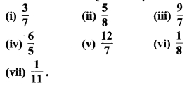 MP Board Class 7th Maths Solutions Chapter 2 भिन्न एवं दशमलव Ex 2. 4 2