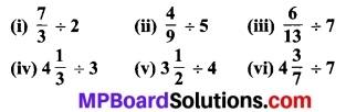 MP Board Class 7th Maths Solutions Chapter 2 भिन्न एवं दशमलव Ex 2. 4 3
