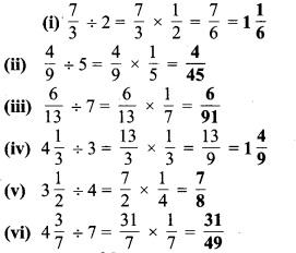 MP Board Class 7th Maths Solutions Chapter 2 भिन्न एवं दशमलव Ex 2. 4 3a