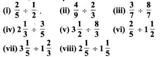MP Board Class 7th Maths Solutions Chapter 2 भिन्न एवं दशमलव Ex 2. 4 4