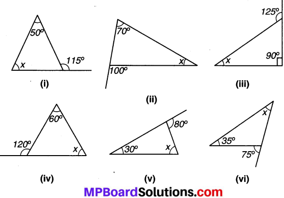 MP Board Class 7th Maths Solutions Chapter 6 त्रिभुज और उसके गुण Ex 6.2 image 2