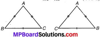 MP Board Class 7th Maths Solutions Chapter 7 त्रिभुजों की सर्वांगसमता Ex 7.1 image 5