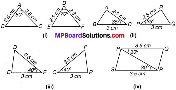 MP Board Class 7th Maths Solutions Chapter 7 त्रिभुजों की सर्वांगसमता Ex 7.1 image 6