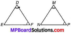 MP Board Class 7th Maths Solutions Chapter 7 त्रिभुजों की सर्वांगसमता Ex 7.1 image 8