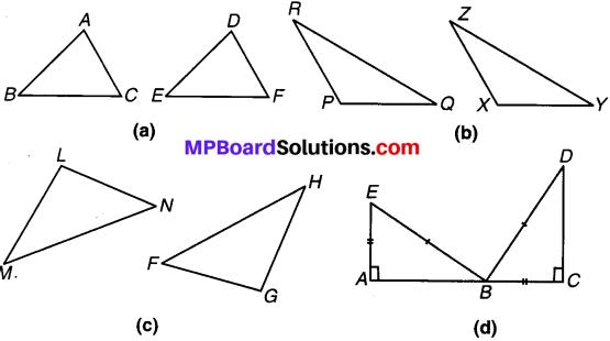 MP Board Class 7th Maths Solutions Chapter 7 त्रिभुजों की सर्वांगसमता Ex 7.2 image 1