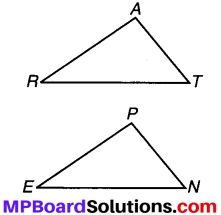MP Board Class 7th Maths Solutions Chapter 7 त्रिभुजों की सर्वांगसमता Ex 7.2 image 2