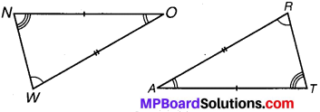 MP Board Class 7th Maths Solutions Chapter 7 त्रिभुजों की सर्वांगसमता Ex 7.2 image 4