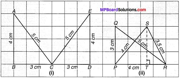 MP Board Class 7th Maths Solutions Chapter 7 त्रिभुजों की सर्वांगसमता Ex 7.2 image 6