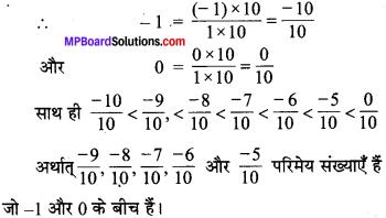 MP Board Class 7th Maths Solutions Chapter 9 परिमेय संख्याएँ Ex 9.1 image 1