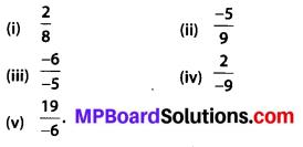 Mp Board Class 8 Maths Solution