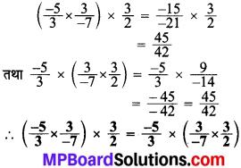 MP Board Class 8th Maths Solutions Chapter 1 परिमेय संख्याएँ Intext Questions img-26