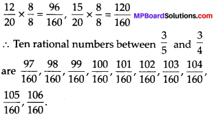 MP Board Class 8th Maths Solutions Chapter 1 Rational Numbers Ex 1.2 img-13