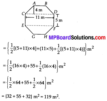 MP Board Class 8th Maths Solutions Chapter 11 Mensuration Ex 11.2 100