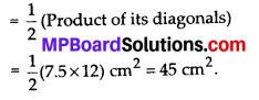 MP Board Class 8th Maths Solutions Chapter 11 Mensuration Ex 11.2 9