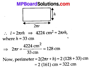 MP Board Class 8th Maths Solutions Chapter 11 Mensuration Ex 11.3 10