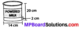 MP Board Class 8th Maths Solutions Chapter 11 Mensuration Ex 11.3 12