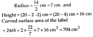MP Board Class 8th Maths Solutions Chapter 11 Mensuration Ex 11.3 13