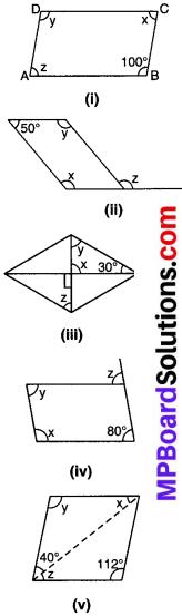 MP Board Class 8th Maths Solutions Chapter 3 चतुर्भुजों को समझना Ex 3.3 img-2