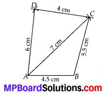 MP Board Class 8th Maths Solutions Chapter 4 Practical Geometry Ex 4.1 1
