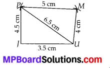 MP Board Class 8th Maths Solutions Chapter 4 Practical Geometry Ex 4.1 2