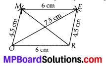 MP Board Class 8th Maths Solutions Chapter 4 Practical Geometry Ex 4.1 3