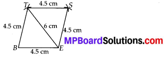 MP Board Class 8th Maths Solutions Chapter 4 Practical Geometry Ex 4.1 4