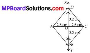 MP Board Class 8th Maths Solutions Chapter 4 Practical Geometry Ex 4.5 2