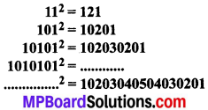 MP Board Class 8th Maths Solutions Chapter 6 वर्ग और वर्गमूल Ex 6.1 img-3