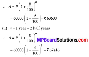 MP Board Class 8th Maths Solutions Chapter 8 Comparing Quantities Ex 8.3 24