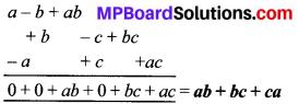 MP Board Class 8th Maths Solutions Chapter 9 बीजीय व्यंजक एवं सर्वसमिकाएँ Ex 9.1 img-3