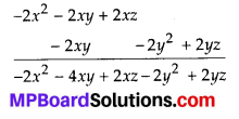 MP Board Class 8th Maths Solutions Chapter 9 Algebraic Expressions and Identities Ex 9.3 4
