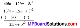 MP Board Class 8th Maths Solutions Chapter 9 Algebraic Expressions and Identities Ex 9.3 5
