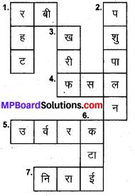 MP Board Class 8th Science Solutions Chapter 1 फसल उत्पादन एवं प्रबंध 5