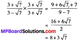 MP Board Class 9th Maths Solutions Chapter 1 Number Systems Ex 1.4 img-3