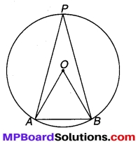 MP Board Class 9th Maths Solutions Chapter 10 वृत्त Additional Questions 11