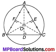 MP Board Class 9th Maths Solutions Chapter 10 वृत्त Additional Questions 4