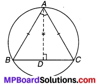 MP Board Class 9th Maths Solutions Chapter 10 वृत्त Additional Questions 5