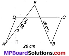 MP Board Class 9th Maths Solutions Chapter 12 हीरोन का सूत्र Ex 12.2 4