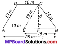 MP Board Class 9th Maths Solutions Chapter 12 हीरोन का सूत्र Ex 12.2 9
