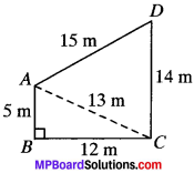MP Board Class 9th Maths Solutions Chapter 12 Heron's Formula Ex 12.1 img-10